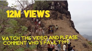 Download Raigad incident-Horse fell down from रायगड Fort Video