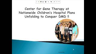 Download [Webinar] PART 2: Gene Therapy for Duchenne - Nationwide Children's Hospital - September 2017 Video