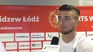 Download Kamil Wolski po meczu z Widzewem Łódź Video