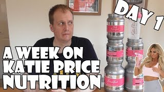 Download A Week On Katie Price Nutrition DAY 1 Video