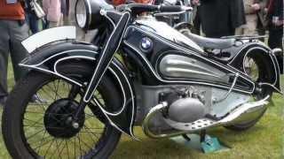 Download Vintage German Motorcycles of 2012 Concours d'Elegance [1080HD] Video