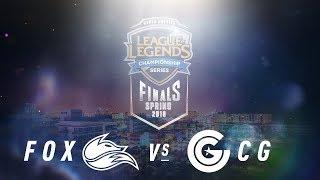 Download FOX vs. CG | NA LCS Spring Playoffs | Third Place Game 1 | Echo Fox vs. Clutch Gaming Video