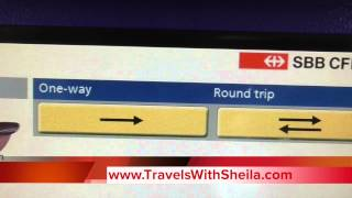 Download How to Use Automatic Train Ticket Machines in Switzerland Video