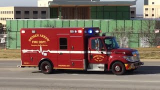 Download *MAJOR RUMBLER AND HORN ALERT!!!* Broken Arrow Fire Department Squad 3 Responding! Video
