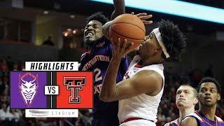 Download Northwestern State vs. Texas Tech Basketball Highlights (2018-19) | Stadium Video