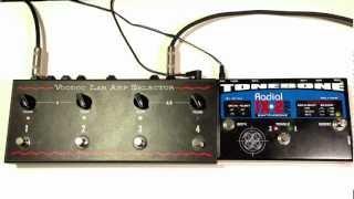 Download Voodoo Lab Amp Selector vs Radial JX2 Pro Tonebone Video