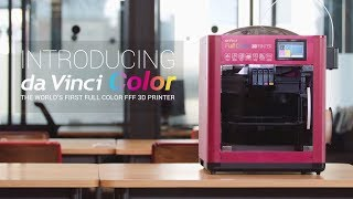 Download da Vinci Color- The World First Full-Color FFF 3D Printer Video
