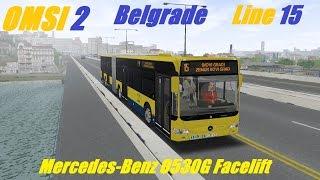 Download OMSI 2. Belgrade, Line 15, Mercedes-Benz Citaro G Facelift. Part 1 Video