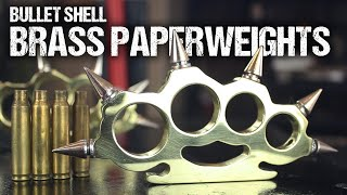 Download How To Make Brass Knuckles, From Bullet Shells Video