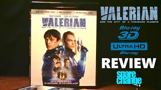 Download Valerian And The City Of A Thousand Planets 4K | 3D Bluray Review | Dolby Atmos | DTS HD Video