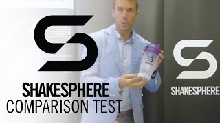 Download ShakeSphere VS Every other protein shaker! Video
