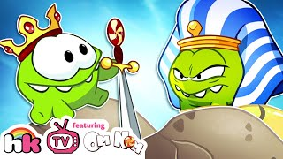 Download Cartoon | Om Nom Stories: The Middle Ages | Funny Cartoons For Children | HooplaKidz TV Video