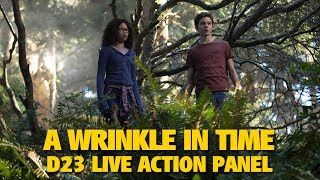 Download 'A Wrinkle in Time' Disney Studios Highlights | D23 Expo 2017 Video