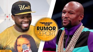 Download 50 Cent Reignites Beef With Floyd Mayweather Video