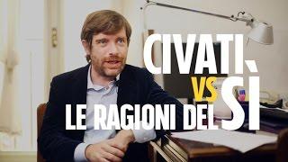 Download Sette ragioni del Sì al referendum costituzionale, smontate da Pippo Civati Video