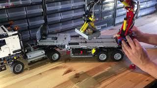 Download Lego Technic Mercedes-Benz Arocs 3245, 42043 B-model: Functions Video