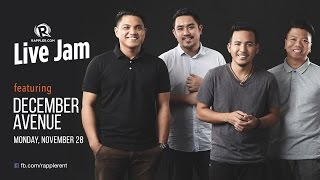 Download Rappler Live Jam: December Avenue Video