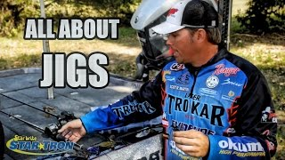 Download How to fish Jigs 101 - Everything you need know about fishing jigs for big bass Video