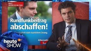 Download Lutz van der Horst will kein Gesicht für AfD-Werbung sein - heute-show vom 25.11.2016   ZDF Video