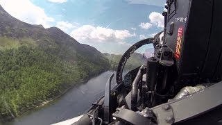Download Flying the Typhoon Through the Mach Loop at Low Level Video