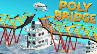 Download Boats, Cars, and Bridges! - Poly Bridge Gameplay Video