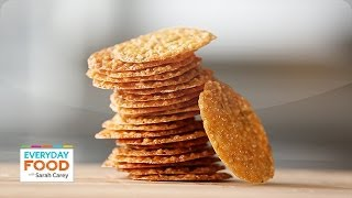 Download Lacy Almond Cookies - Everyday Food with Sarah Carey Video