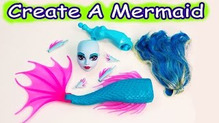 Download Mermaid Siren Create A Monster High Doll Add On Starter Pack CAM Playset Set Cookieswirlc Video