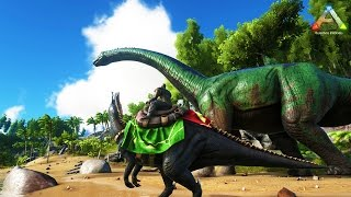 Download Hike Plays: ARK Survival - BUILDING A BASE!! - THE DINO HUNTER! - ARK Evolved Gameplay Video