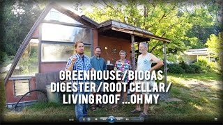 Download Permaculture Tip of the Day - Greenhouse/Biogas Digester/Root Cellar/Living Roof Video