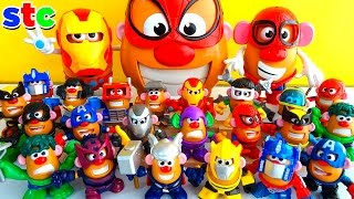Download Mr Potato Head Collection Marvel Avengers y Transformers Video