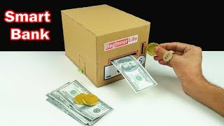 Download How to Make Smart Personal Bank Saving Coin and Cash Video