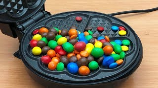 Download EXPERIMENT WAFFLE IRON vs M&M Video