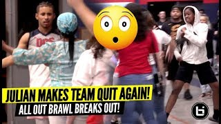 Download Julian Newman Makes Team QUIT AGAIN & All Out BRAWL Breaks Out! WTF! Video