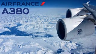 Download Air France Airbus A380, Paris CDG to Los Angeles (LAX), FULL FLIGHT + Lightning strike on our plane Video
