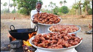 Download 100 Chicken Drumsticks Recipe   Chicken Legs Fry Grandpa Kitchen Video