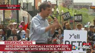 Download Beto O'Rourke immigration Video