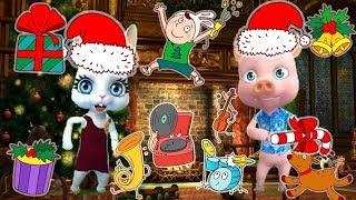 Download Zoobe Зайка Новогодняя дискотека от Зайки, Добрые песни на Новый год! Video