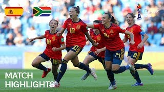 Download Spain v South Africa - FIFA Women's World Cup France 2019™ Video