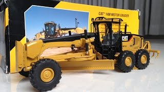 Download CAT 14M MOTOR GRADER 1/50 SCALE - UNBOXING Video