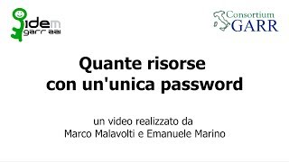Download Quante risorse con un'unica password Video