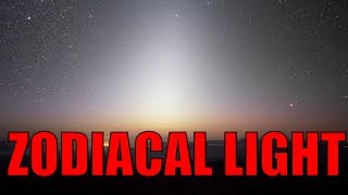 Download Zodiacal Light: Astronomy video \ Natural light phenomenon Video
