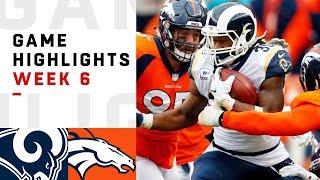 Download Rams vs. Broncos Week 6 Highlights | NFL 2018 Video