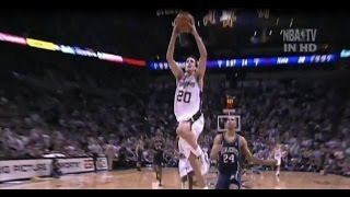 Download Rookie Manu Ginobili vs New Jersey Nets - FULL highlights - G6 2003 NBA FInals Video