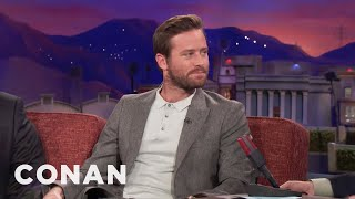 Download Armie Hammer Is No Halle Berry - CONAN on TBS Video