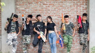 Download 3T Nerf War : Squad Alpha Double SWAT Nerf guns Fight The Criminal Gang of Theft Video