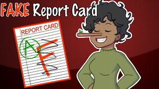 Download My FAKE Report Card (Animation) Video