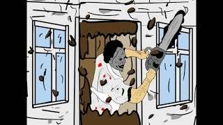 Download LEATHERFACE/TEXAS CHAINSAW MASSACRE- ANIMATED SHORT FILM- (UNCUT GORE VERSION) Video