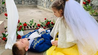 Download СВАДЬБА маленькой ПРИНЦЕССЫ невесты ! Video