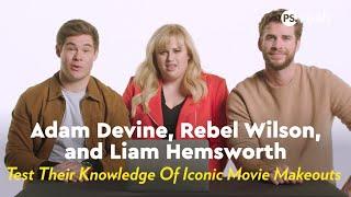 Download Liam Hemsworth, Rebel Wilson & Adam Devine Test Their Knowledge Of Iconic Movie Makeouts Video