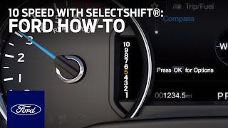 Download Using 10-Speed Automatic with SelectShift® Capability | Ford How-To | Ford Video